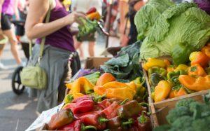 Health food at farmer's market
