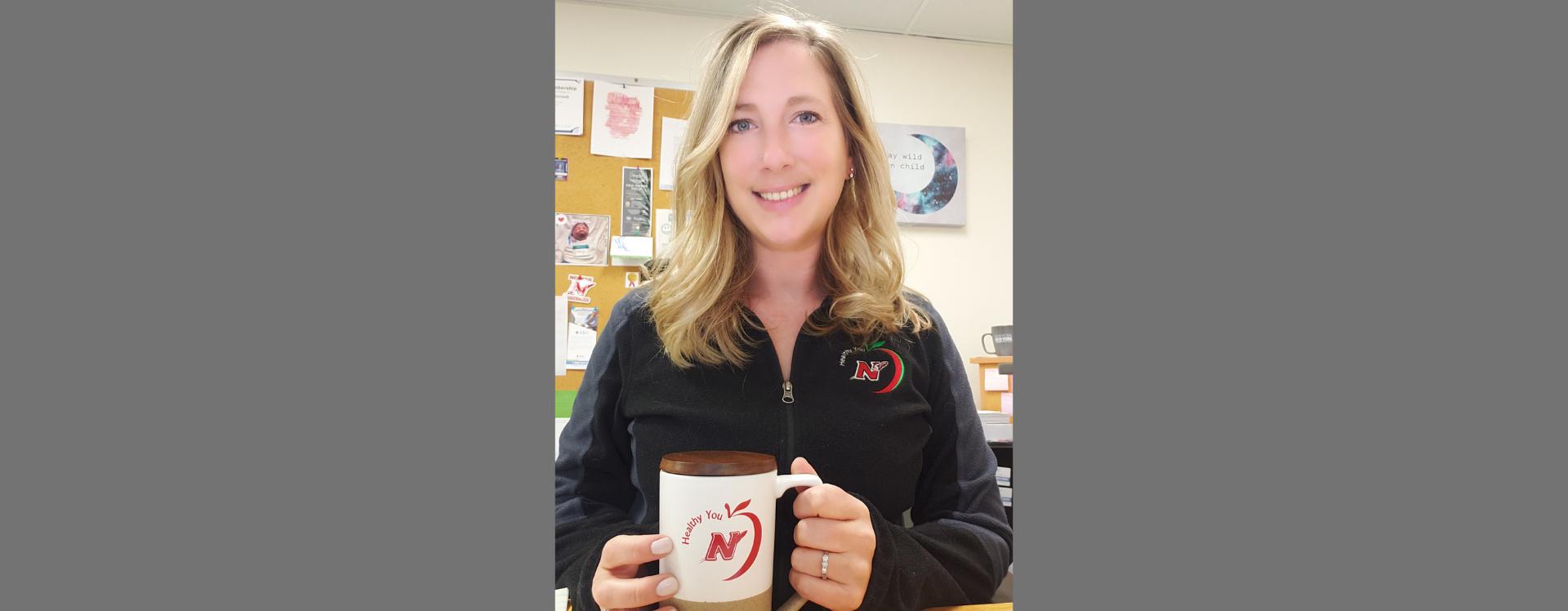 Jessica Lehman in Neenah School District spiritware